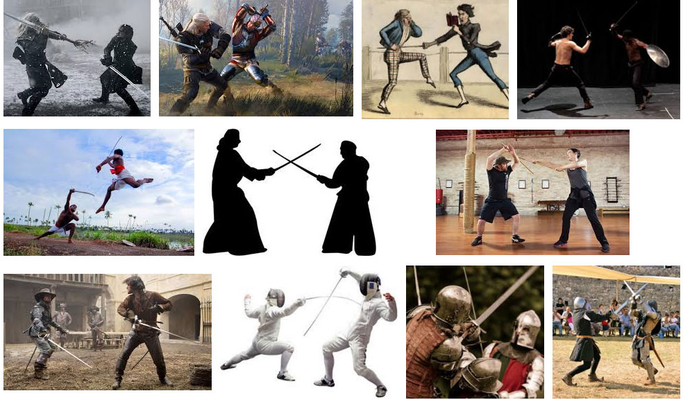 COMBAT SWORD FIGHTING